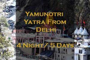 Yamunotri Yatra From Delhi