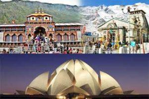 Kedarnath Badrinath From Delhi