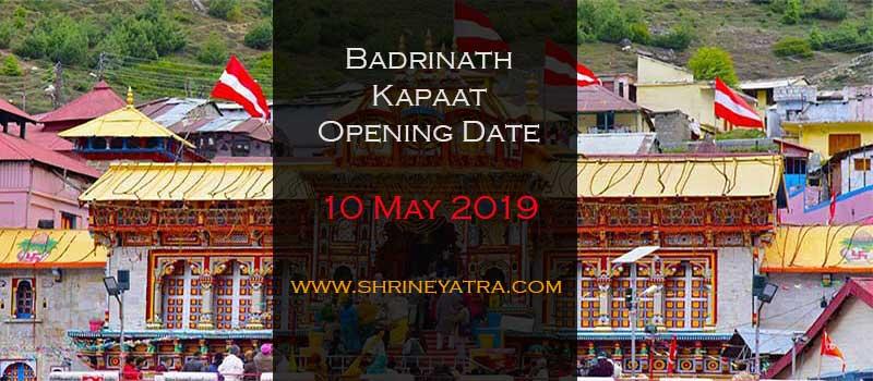 Badrinath Opening Date