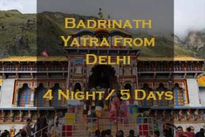 Badrinath Package From Delhi