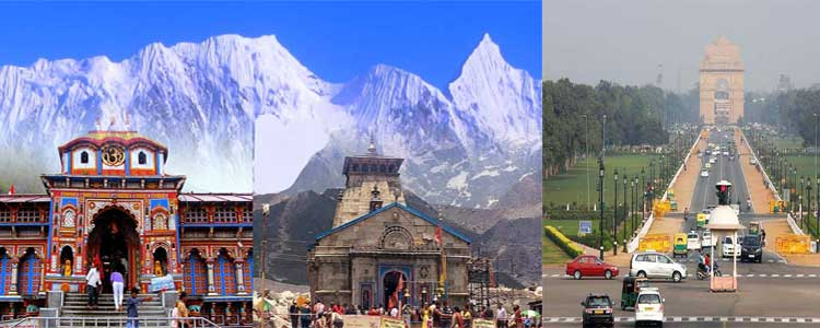 Badrinath Kedarnath Yatra From Delhi