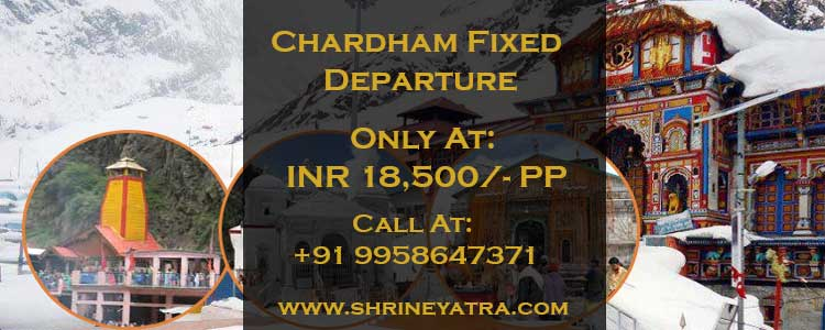 Chardham Fixed Departure 2020
