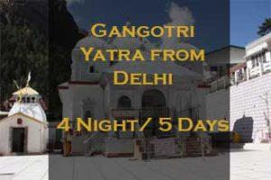 Gangotri Package From Delhi