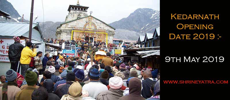 Kedarnath Opening Date 2020