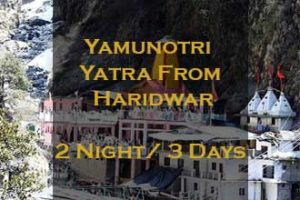 Yamunotri Package From Haridwar