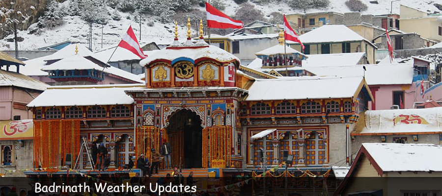 Badrinath Weather Update