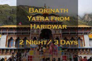 Badrinath Package From Haridwar