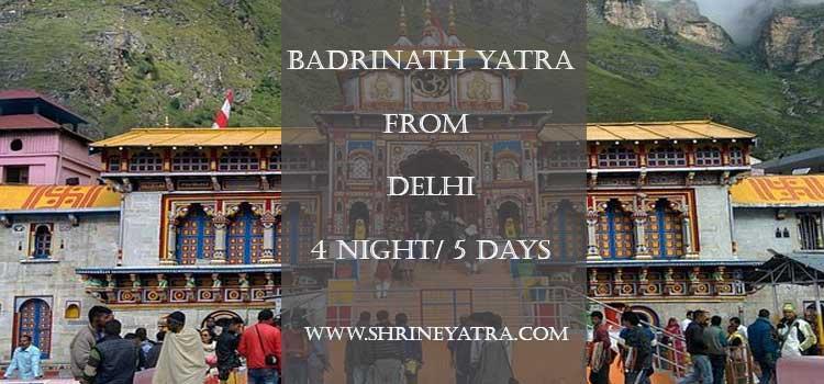Badrinath Yatra From Delhi