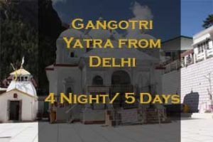 Gangotri Package From Delhi