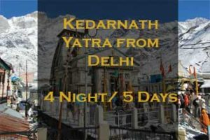 Kedarnath Package Delhi