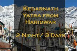 Kedarnath Package From Haridwar