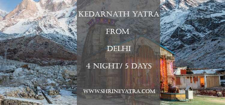 Kedarnath <p>Yatra From Delhi