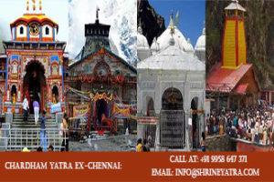 Chardham Yatra Ex Chennai