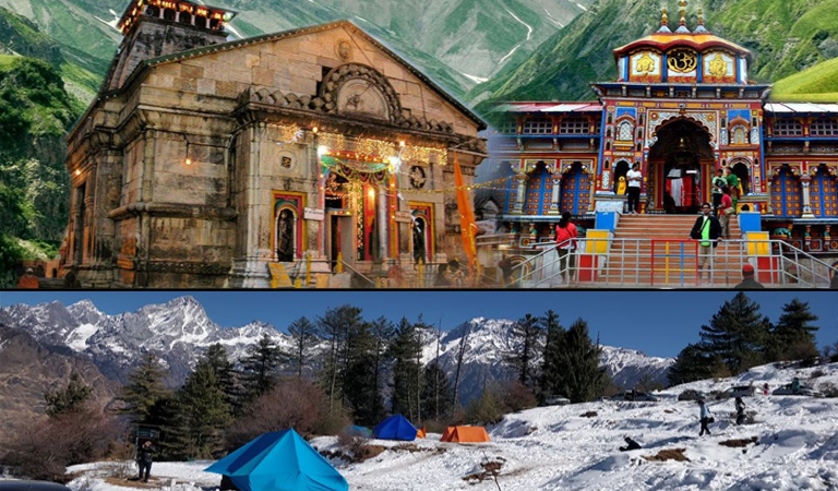 Kedarnath Badrinath Auli Tour Package