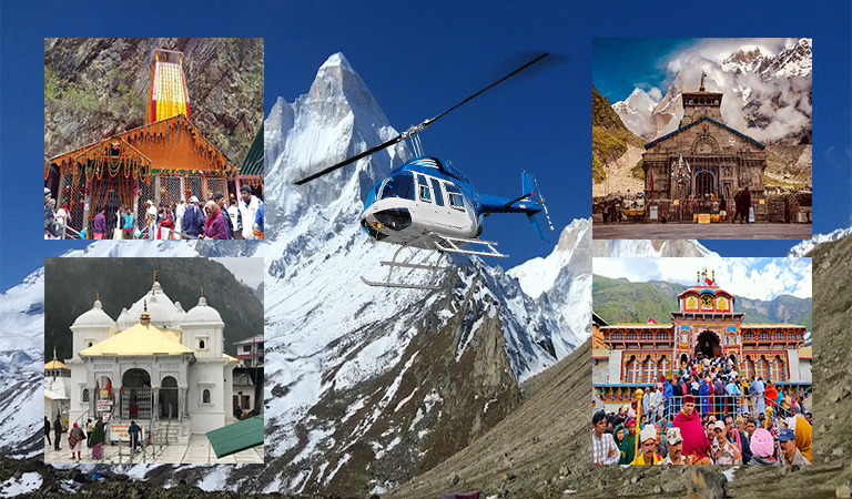 Chardham Yatra by Helicopter 2020