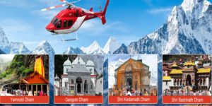 Experience Chardham Yatra by Helicopter