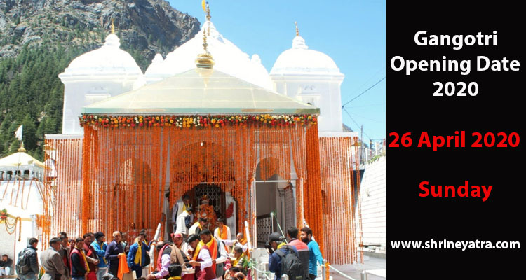 Gangotri Opening Date 2020