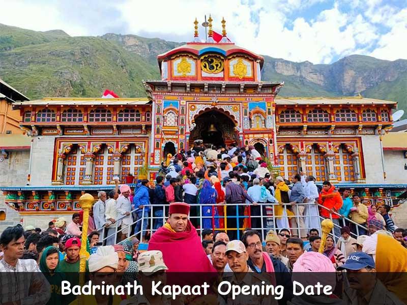 Badrinath Opening Date 2021