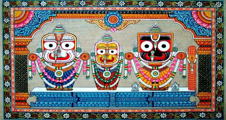 Inside Jagannath Temple