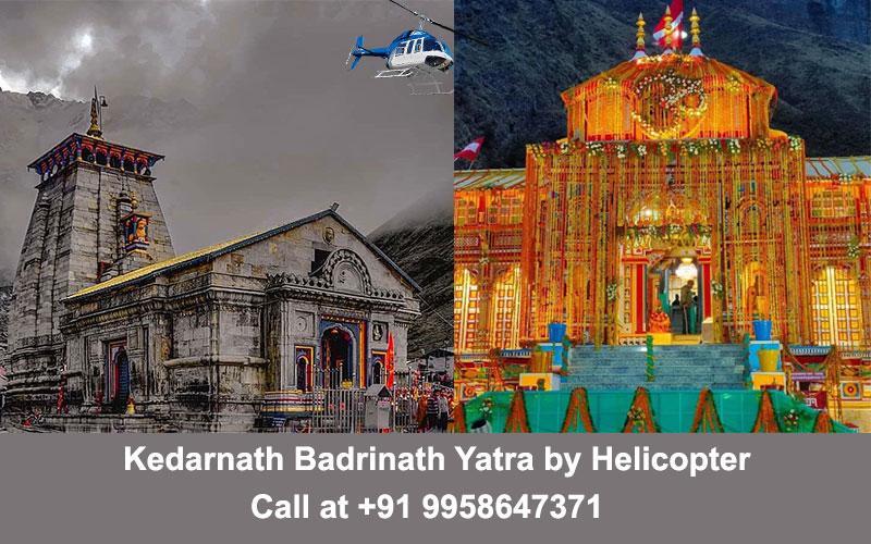 Kedarnath Badrinath Yatra by Helicopter