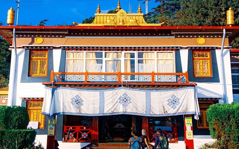 Tibetan Temple Mussoorie