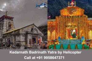 Do Dham by Helicopter